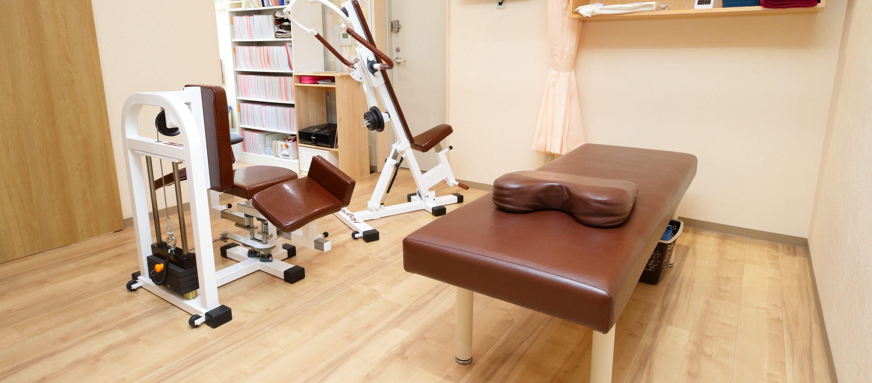最新の運動療法機器・治療機器で、早期回復へ導く!